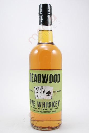 Deadwood Rye Whiskey 750ml