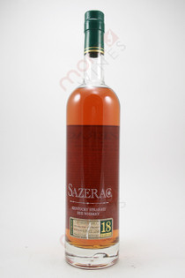 Sazerac 18 Year Old Straight Rye Whiskey 750ml