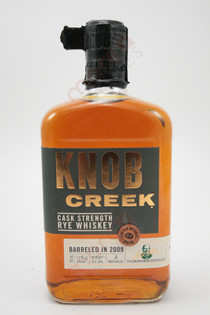 Knob Creek Cask Strength Rye Whiskey 750ml