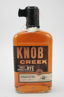 Knob Creek Twice Barreled Rye Whiskey 750ml
