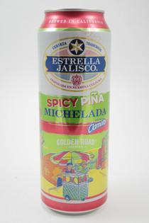 Estrella Jalisco Spicy Pina Michelada 25fl oz