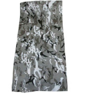 Multi Functional Face and Headwear Protection Gray Camo