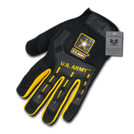 Molded Knuckle Mechanic's Gloves (Medium)