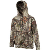 Huntworth Men's Cotton Hooded Pullover Hunting Sweat Shirt Camouflage