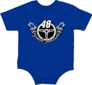 NASCAR Jimmie Johnson #48 Infant Romper Onesie Toddler Body Suit [Misc.]