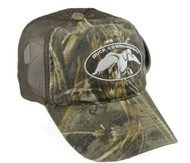 Duck Commander Realtree Max-5 Camo Logo Brown Meshback Cap [Misc.]