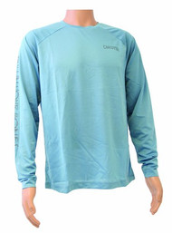 Calcutta CLKN1002SBM Performance Poly Long Sleeve T-Shirt, Slate Blue, Medium