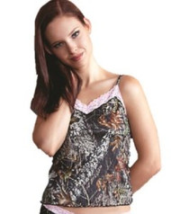 Weber Pretty in Pink Pink Laced Camisole (X-Large)