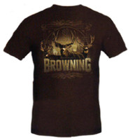 Browning Men's Buck T-Shirt Brown Large [Apparel]