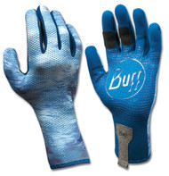 Buff Sport Series MXS 2 Fly Fishing Water Angler Outdoor Gloves - Pelagic XS