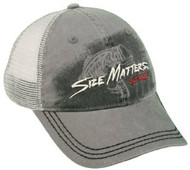 Size Matters Fishing Hat with Mesh Back