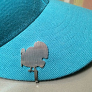 Hunting And Fishing Brim Clip Hat Clasp (Turkey Clip) [Misc.]