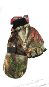 Men's Hunting Oaktree Camo Pop-Top Glove (XL)