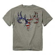 Buck Wear USA Rip Deer Skull Buck Hunting Shirt (XXL) [Misc.]