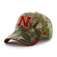 NCAA '47 Brand Nebraska Cornhuskers Frost Adjustable Hat - Realtree Camo [Misc.]