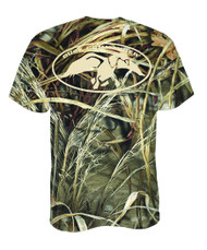 Duck Commander Logo Shirt, Camo, Large