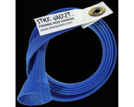 Stick Jacket Spinning Fishing Rod Cover Blue