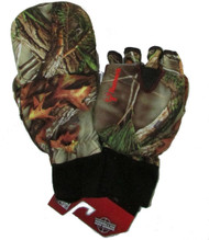 Men's Hunting Oaktree Camo Extreme Cold Pop-Top Glove (Medium) [Misc.]