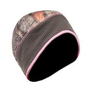 Ladies Compression Fleece Beanie Hat with Pony Tail Slot in Back (S/M) [Misc.]