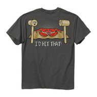 "Cooked Crab ""I'D HIT THAT"" Crab Eating T-Shirt (XXL) [Misc.]"