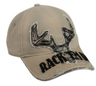 Rack 'Em Up Khaki/Realtree APTM Cap