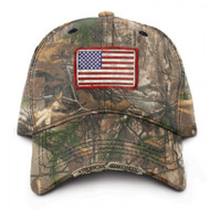 Buck Wear Men's American Sportsman Hat with Flag, One Size, Camouflage [Sports]