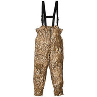Huntworth Men's Micro Fiber Lined Waterproof Camouflage Bib Overalls (Marshla...
