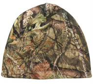 Mossy Oak Country Reversible Brown / Camo Hunting Knit Beanie