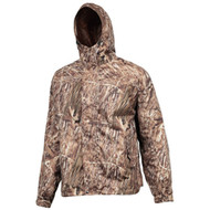 Huntworth Men's Micro Fiber Lined Waterproof Camouflage Hunting Jacket (Marsh...