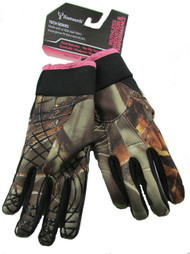 Women's Oaktree Oaktree Camo Tech Ladies Shooters Hunting Glove (S/M)