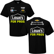 NASCAR Youth Uniform Driver Fan T-Shirt (#48 Jimmie Johnson, XS)