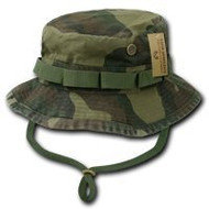 ACU /Camo /OD Military Boonie Hat- Woodland (large)