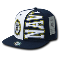 Stack Up Military Caps Baseball Hat - Adjustable - US NAVY -