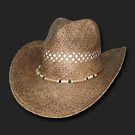 Shelly, Raffia Straw Fashion Cowboy Hats