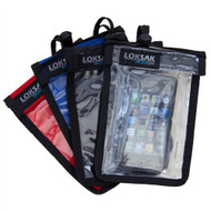 LokSak SPLASHSAK Phone Neck Caddy Case, Black