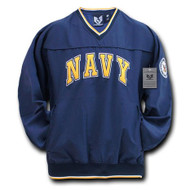Navy Microfiber Pullover (large)