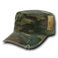 Vintage BDU Fatique / Cotton Cap (x-large)