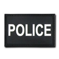 Rapdom Tactical Canvas Patche - Size 3 X 2 inch - Police