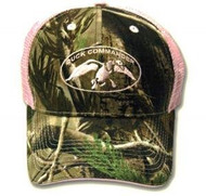 Duck Commander Womens Realtree AP Camo/Pink Mesh Hat