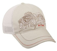 Size Matters Stone/White Fishing Hat