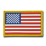 Rapdom Tactical Canvas Patche - Size 3 X 2 inch - A Flag Original