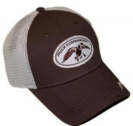 Duck Commander Brown Mesh Fitted Hat