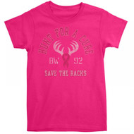 Buck Wear Ladies BCA Hunt For A Cure Tee (XL)
