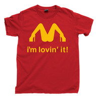 I'm Lovin' It McLovin T Shirt Slash Guns N Roses Red Tee