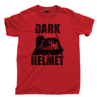 Dark Helmet T Shirt Spaceballs Movie Red Tee