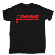 The Shining Axe Black T Shirt Jack Nicholson Stanley Kubrick The Shining Black Tee