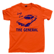 The General Lee Orange T Shirt 1969 Dodge Charger The Dukes Of Hazzard Orange Tee