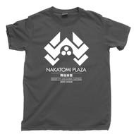 Die Hard T Shirt Nakatomi Plaza John McClane Hans Gruber Christmas Movie Dark Gray Tee