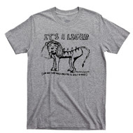 Napoleon Dynamite T Shirt Heck Yes It's A Flippin Sweet Magic Liger Sport Gray Tee