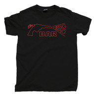 Twin Peaks T Shirt The Bang Bang Bar Roadhouse Agent Cooper Laura Palmer Donna Hayward Black Tee